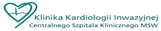 Centralny Szpital Kliniczny MSWiA Warszawa. Klinika Kardiologii Inwazyjnej, Warszawa