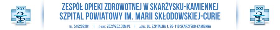 Szpital Powiatowy im. Marii Skłodowskiej-Curie w Skarżysku Kamiennej
